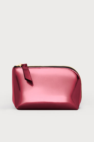 Make-up bag - Red/Metallic - Ladies | H&M IE