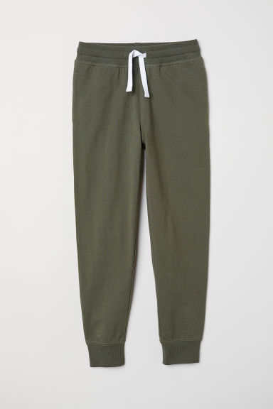 Joggers - Verde kaki scuro - BAMBINO | H&M IT