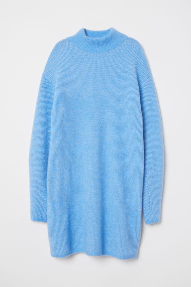 Knit Wool-blend Sweater - Light blue - Ladies | H&M US