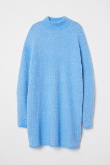 Knitted wool-blend jumperModel