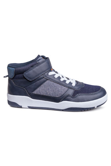 Sneakers alte - Blu scuro - BAMBINO | H&M IT