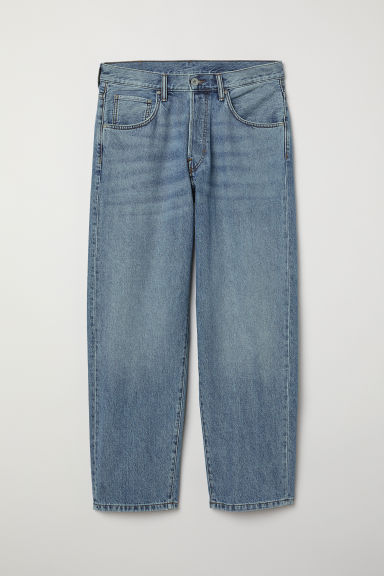 Baggy Jeans - Light denim blue - Men | H&M