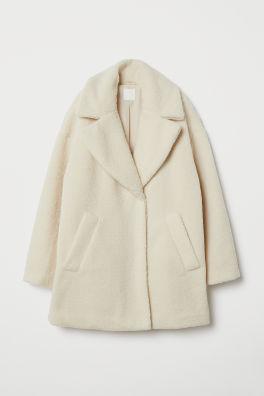 ee4a3bdbe1e6 Faux Fur Coat - Brown -