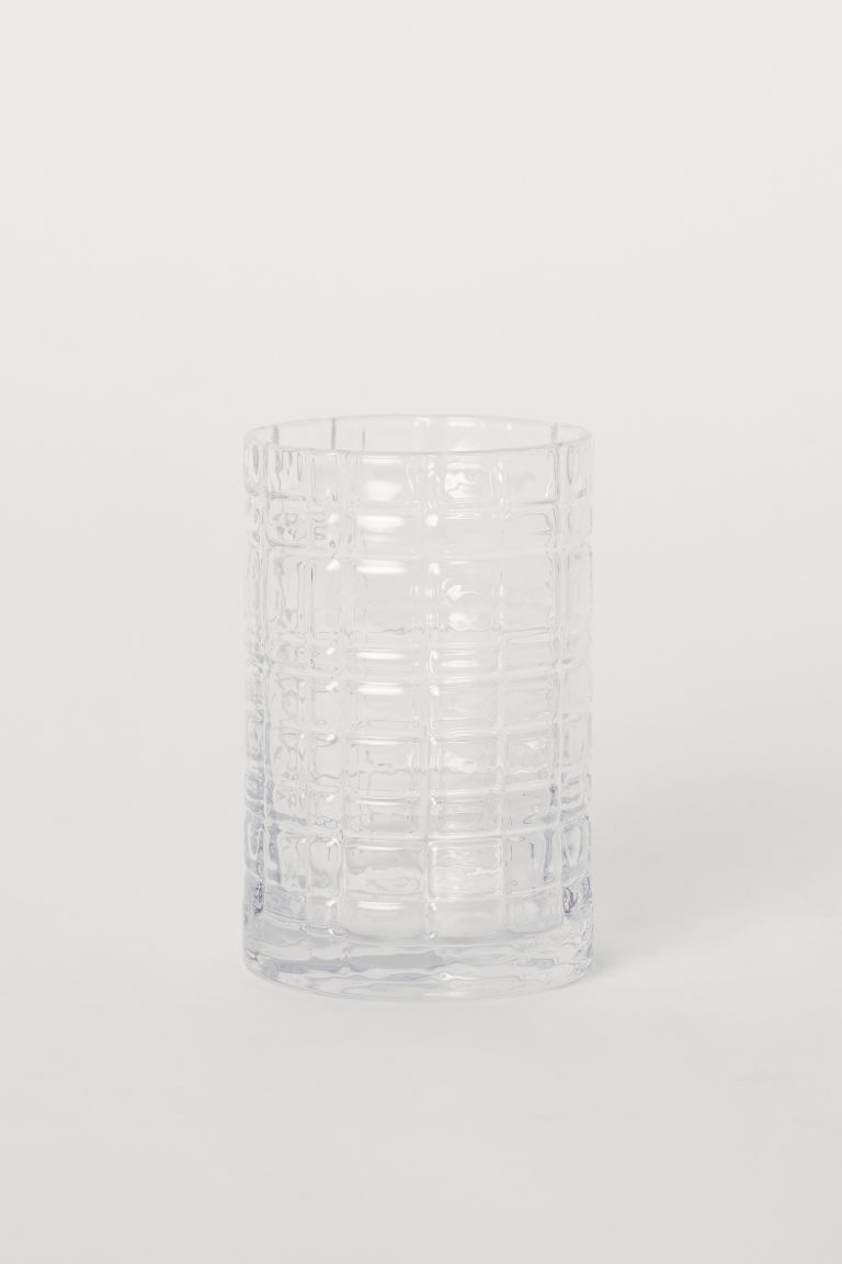 Grand verre à eau - Verre transparent - HOME | H&M BE