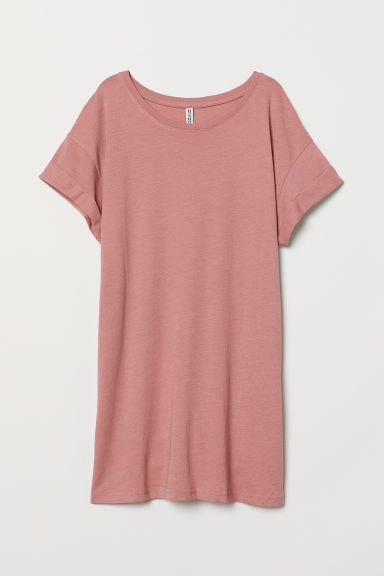 T-shirt long - Rose vintage -  | H&M FR