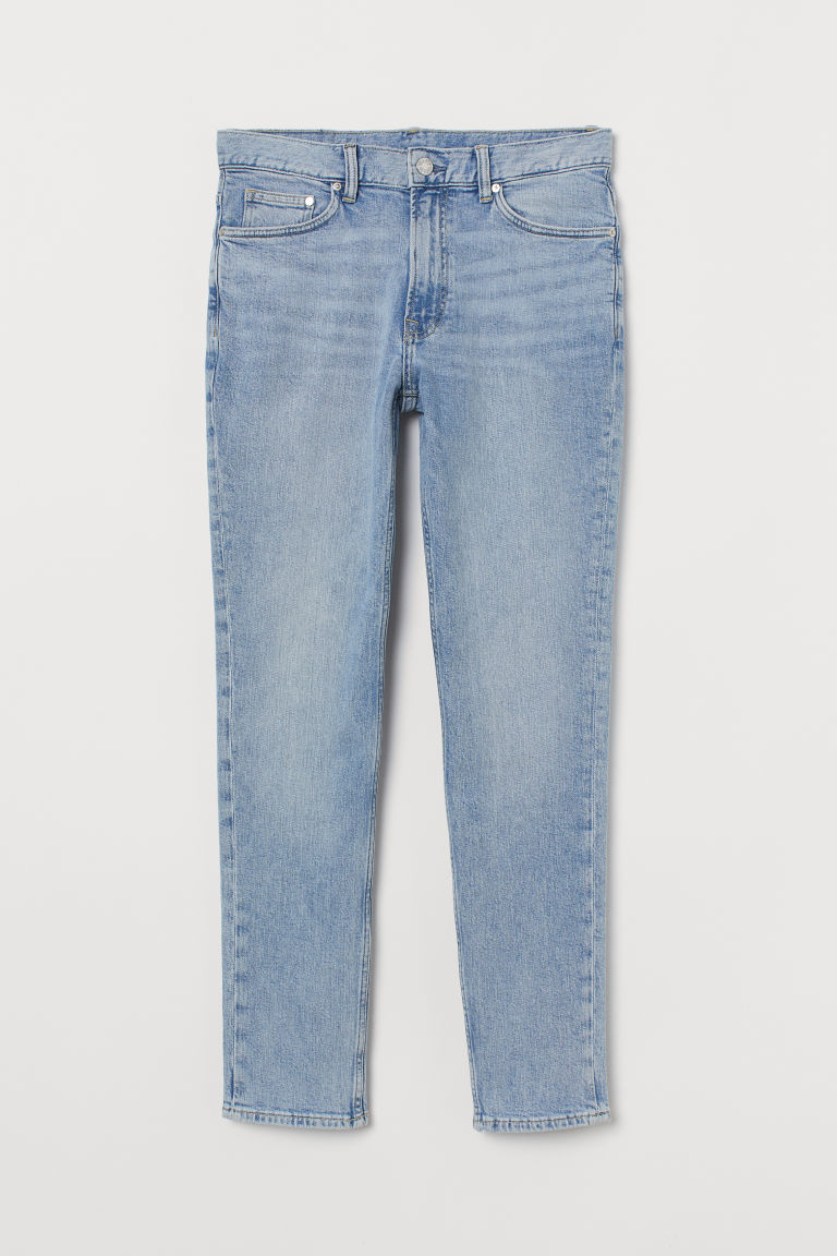 Slim Jeans - Light denim blue - Men | H&M IE