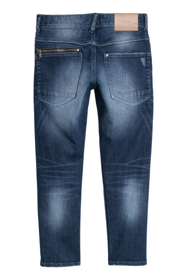 Relaxed Tapered Fit Jeans - Azul denim oscuro - NIÑOS | H&M ES