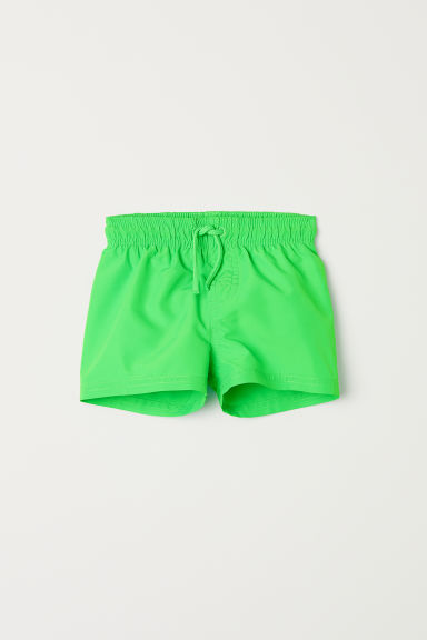 Swim shorts - Green - Kids | H&M CN