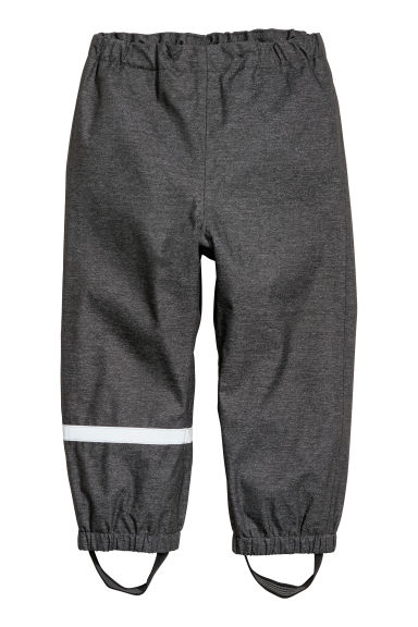 Shell trousers - Black marl - Kids | H&M