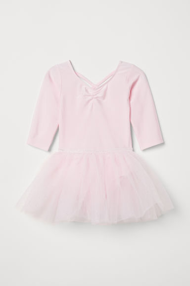 Dance dress with a tulle skirt - Light pink - Kids | H&M