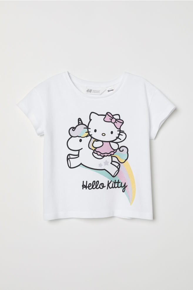 a5c81ee88c8ec Printed T-shirt - White Hello Kitty - Kids
