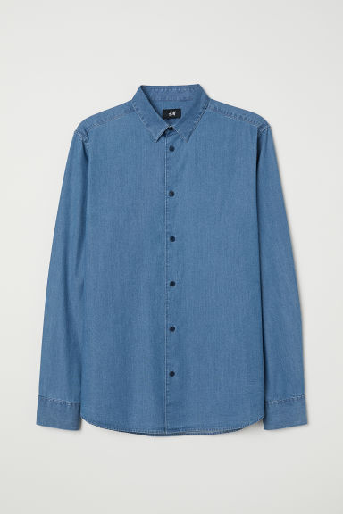 Jeanshemd - Denimblauw -  | H&M BE