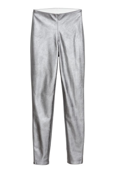 Treggings - Silver-coloured -  | H&M