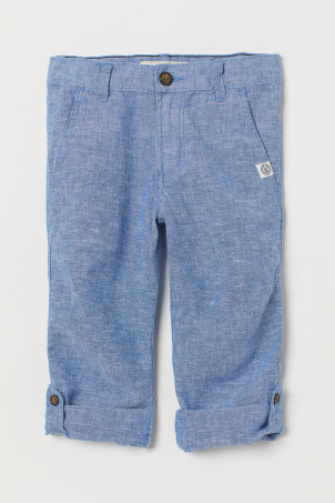 Roll-up trousers