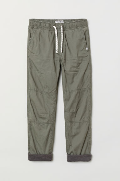 Pull-on trousers - Khaki green - Kids | H&M