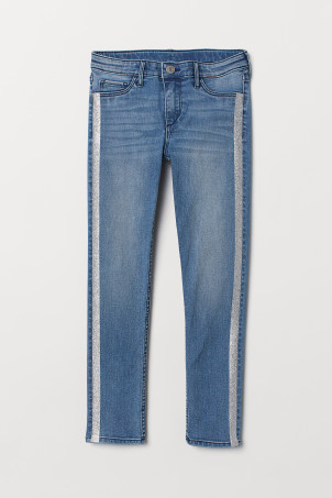 Skinny Fit Ankle Jeans