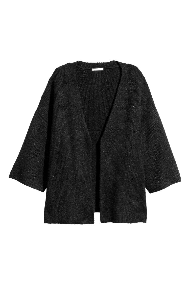 Cardigan - Black/Shimmer - Ladies | H&M GB