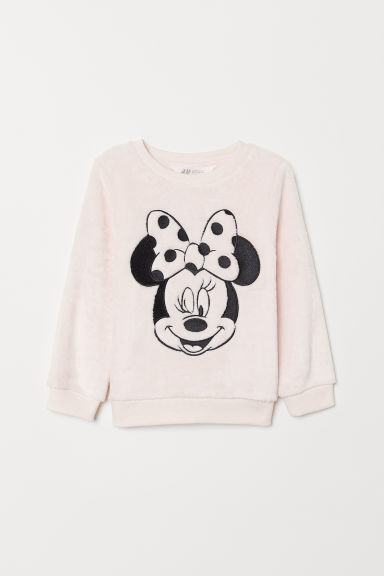 Pile top - Light pink/Minnie Mouse - Kids | H&M