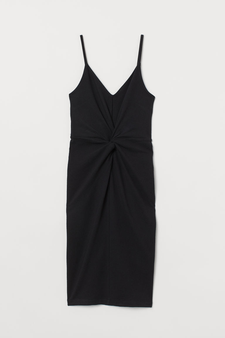 Bodycon dress - Black - Ladies | H&M