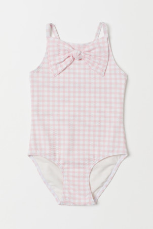 Swimsuit with a bowModal