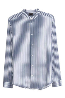 Grandad Shirt Slim fit