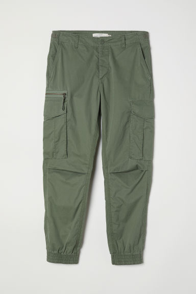 Cargo trousers - Khaki green - Men | H&M