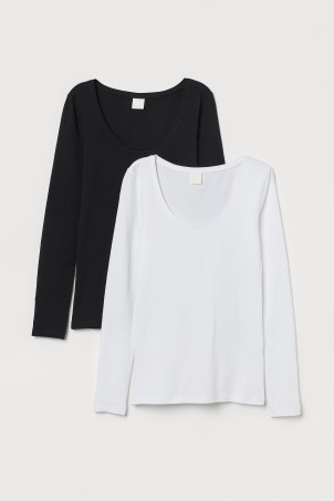 2-pack jersey topsModel