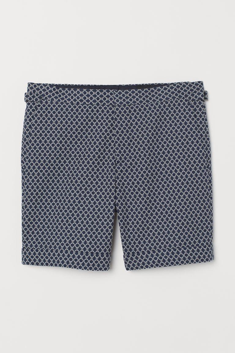 smuts billigt bra kvalitet välkänd Jacquard-weave city shorts