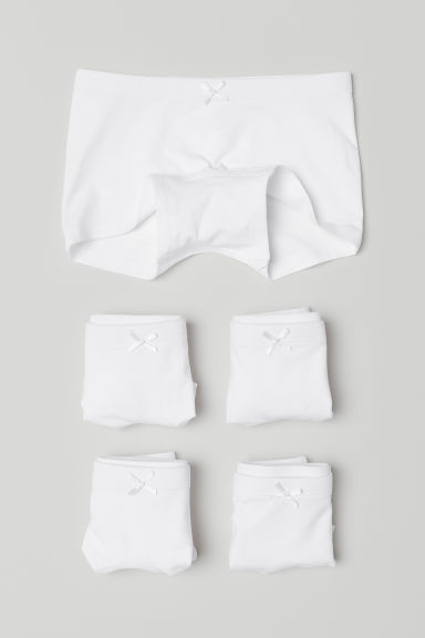 5-pack boxer briefs - White -  | H&M