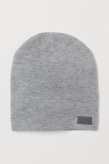 Wool hat - Grey marl - Kids | H&M CN