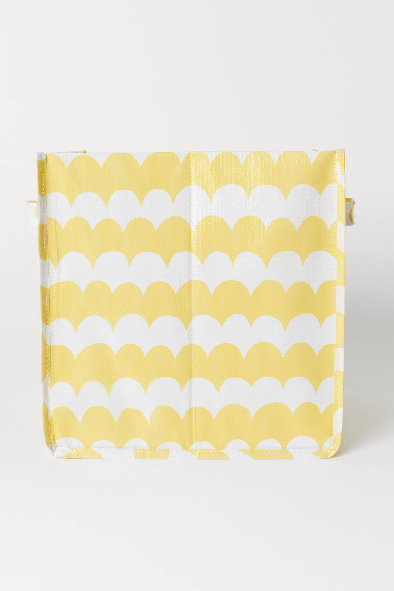 Storage box - Yellow/Patterned - Home All | H&M CN