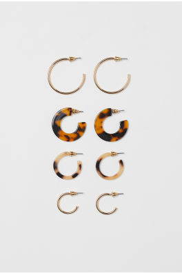 0f907bdf9cf6c Earrings For Women | Hoops, Pearls & Studs | H&M US
