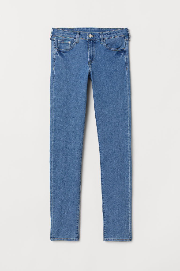 Skinny Low Jeans - Blu denim chiaro -  | H&M IT