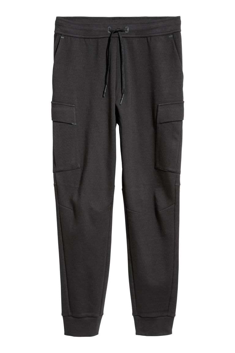 Sports trousers with pockets - Black - Men | H&M CN