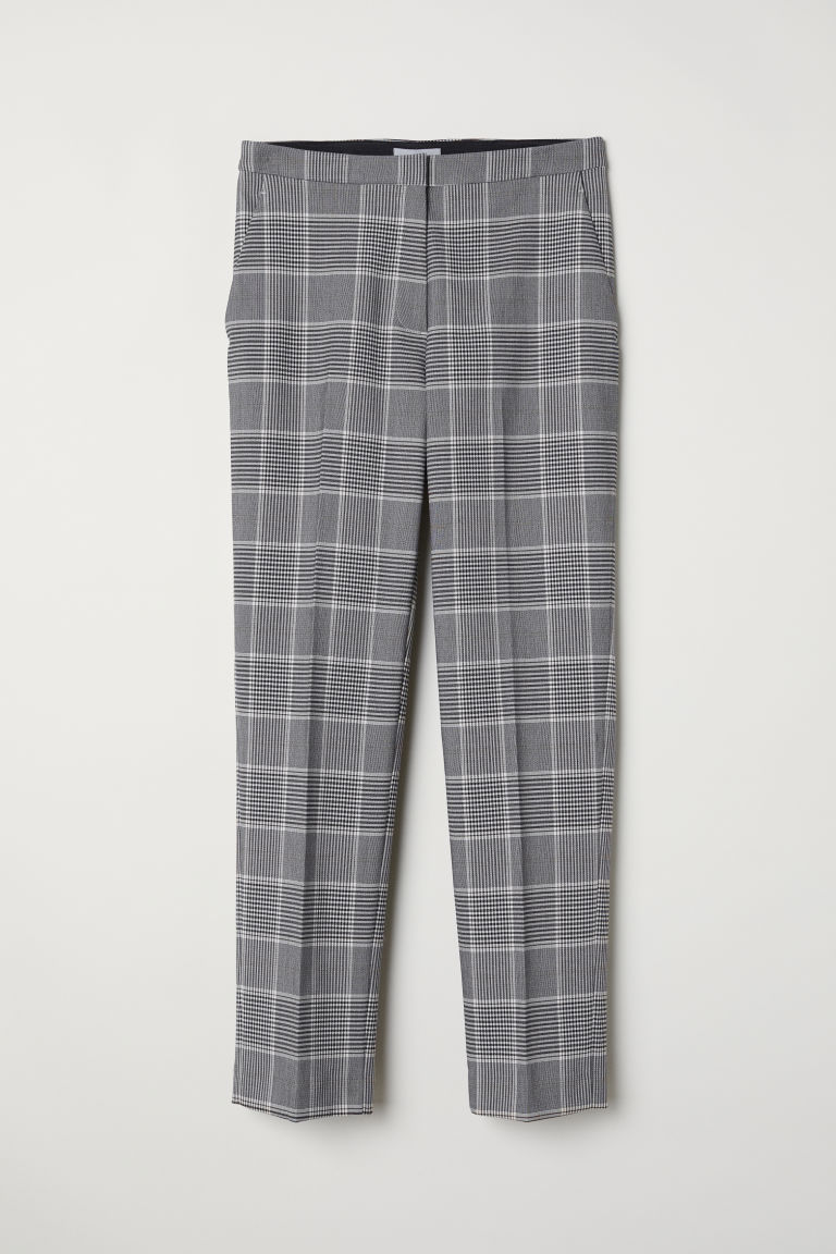 Dress Pants - Beige/checked - Ladies | H&M US