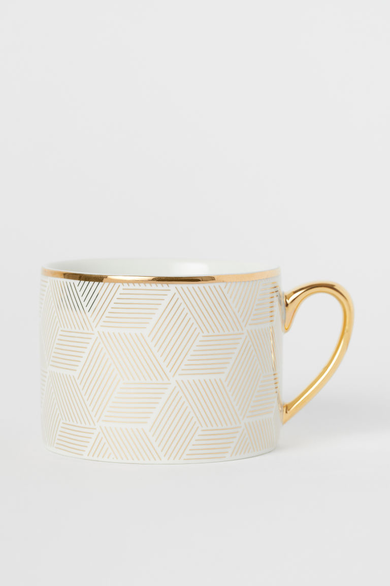 Porcelain cup - White - Home All | H&M CN