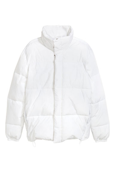 Padded jacket - White -  | H&M IE