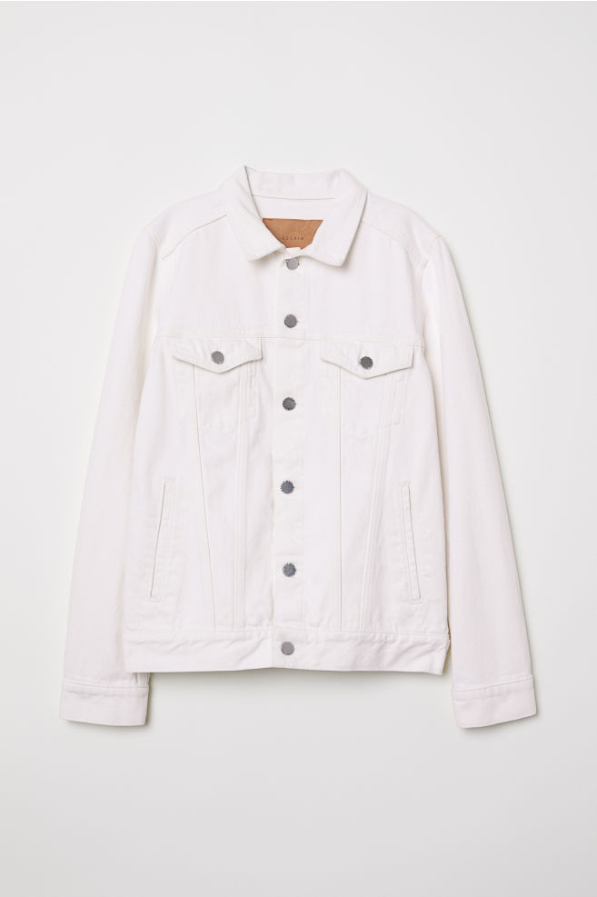 b499012b9e71 Denim Jacket - White denim -