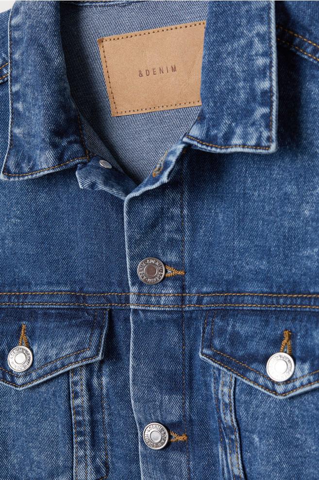 4d2c187722c0 Denim Jacket - Denim blue washed - Ladies