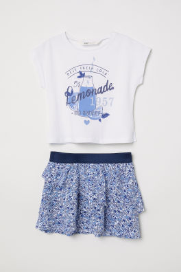 3c02b5747 Girls Tops & T-shirts - 1½ - 10 years | H&M GB