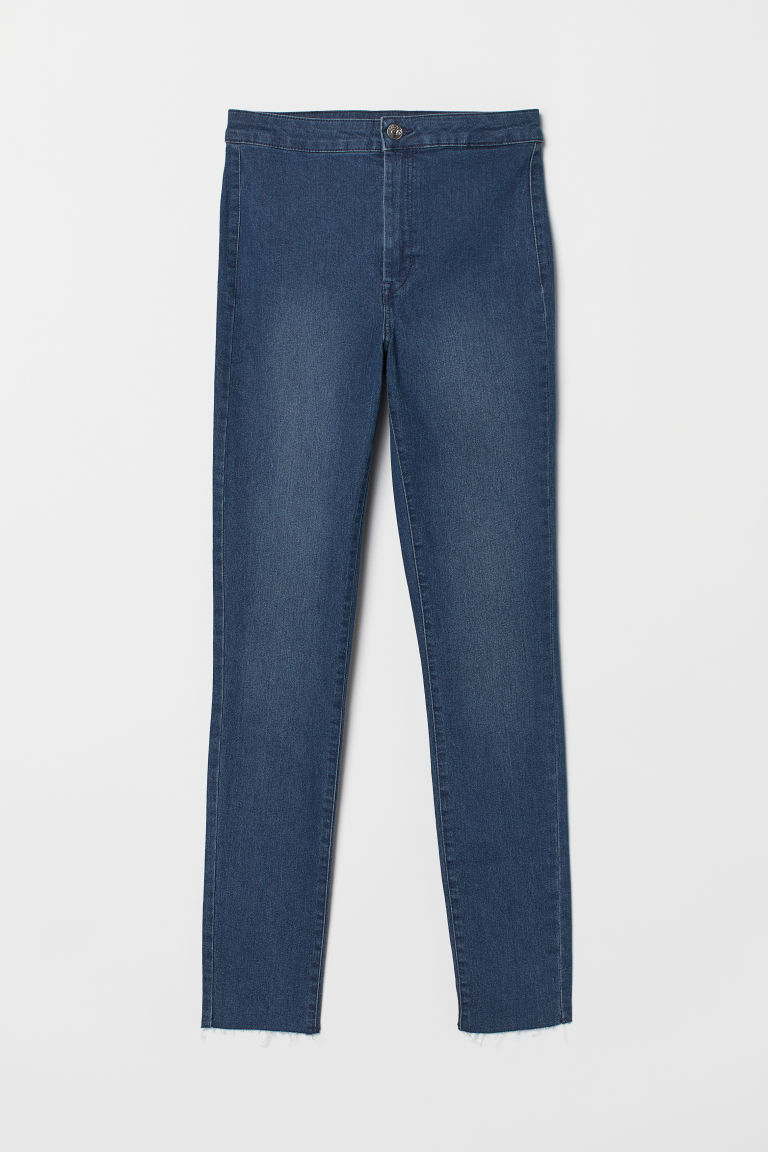 Super Skinny High Treggings - Dark blue -  | H&M CN