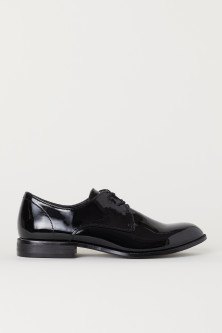 Patent Derby Shoes