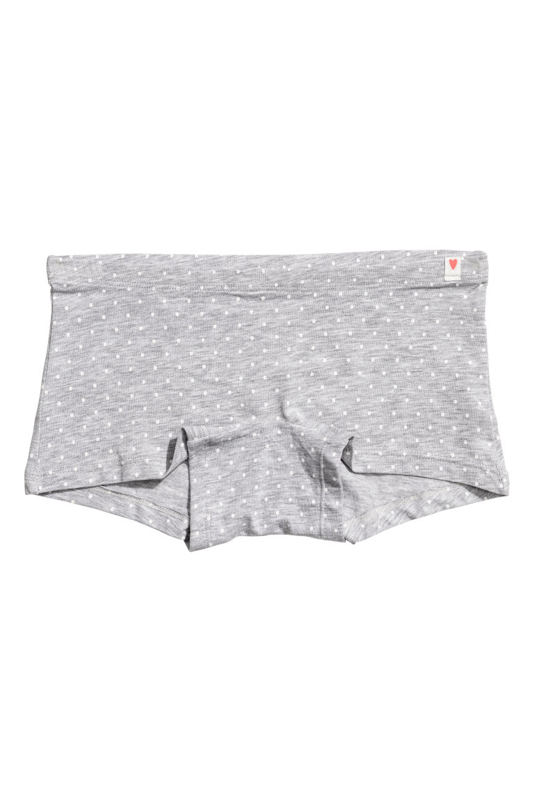 3-pack boxer briefs - Grey marl - Kids | H&M CN