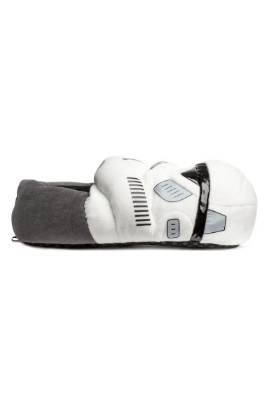 Soft slippers - White/Star Wars -  | H&M IE