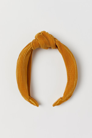 Hairband with Knot Detail