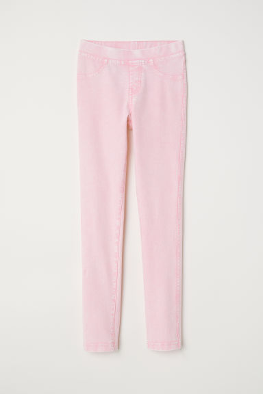Jersey leggings - Light pink -  | H&M