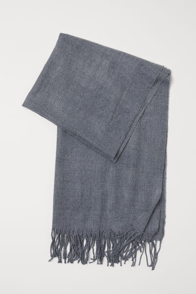 Woven scarf - Grey marl - Ladies | H&M