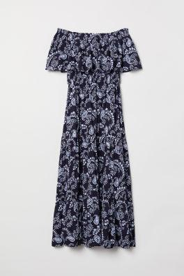 Šaty s odhalenými plecami cb7d9313aae