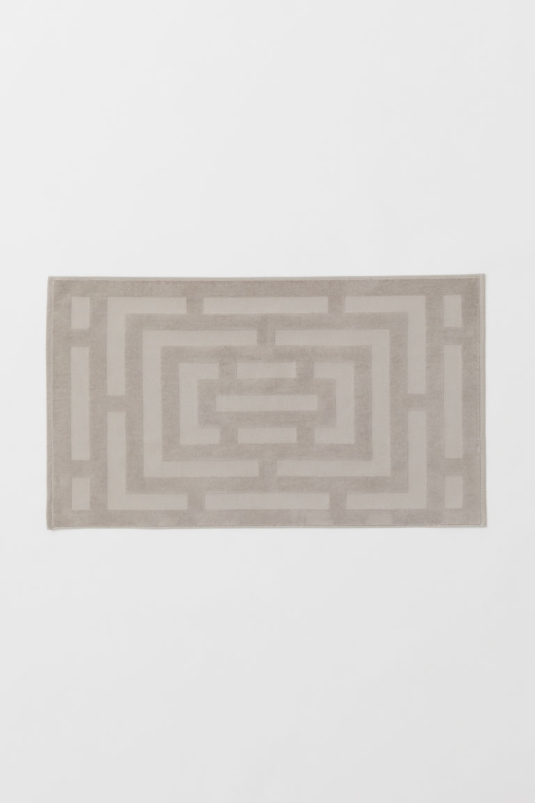 Large bath mat - Mole - Home All | H&M GB