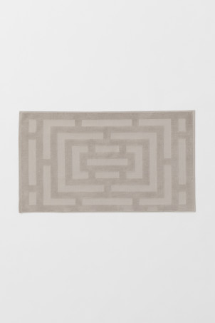 Large bath mat